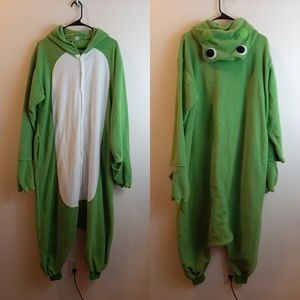 Adult Frog Halloween Custome size Medium